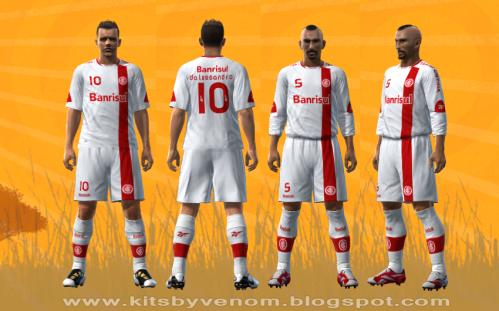 Terceiro Uniforme,kit, do Internacional, Inter, 2010 para PES 2010,Pro Evolution Soccer 2010